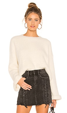 Jessie Fuzzy Sweater About Us $58