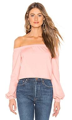 Bella Off Shoulder Sweatshirt About Us $24