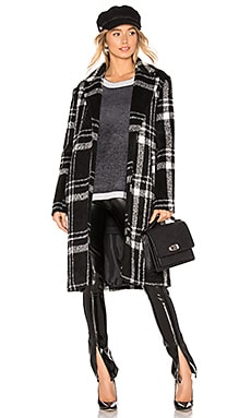 Amanda Plaid Coat superdown $94 BEST SELLER