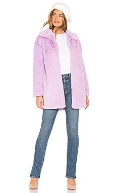 Alie Faux Fur Coat About Us $59