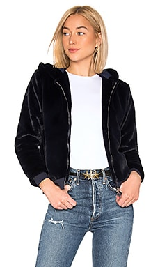 CHAQUETA CON CAPUCHA COURTNEY About Us $46