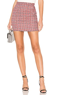 Betsey Mini Skirt About Us $31