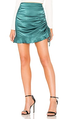 Caroline Side Tie Skirt About Us $42