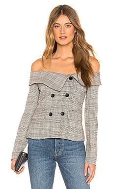 Arlene Blazer Top superdown $60