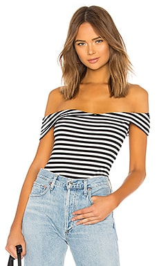 Joey Off Shoulder Top About Us $42