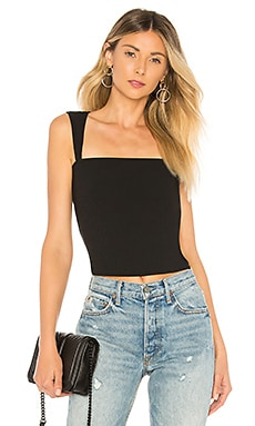 Kelsie Ribbed Tank Top About Us $38