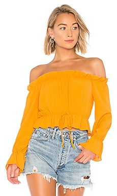 Keysha Off Shoulder Top About Us $42