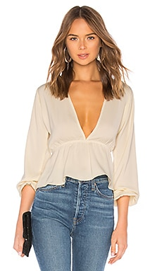 Skylar Deep V Top superdown $49