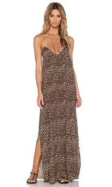 Acacia Swimwear Moscow Maxi Dress in Animal