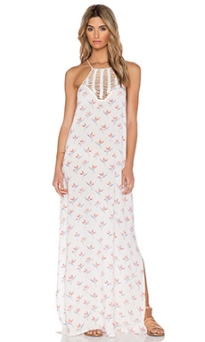 Acacia Swimwear Moscow Maxi Dress in Bird of Paradise