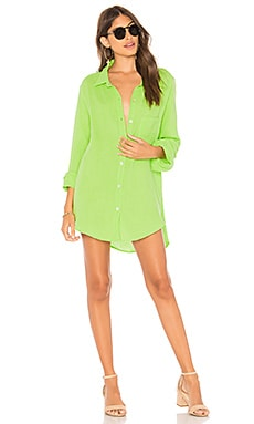 Milos Shirt Dress Acacia Swimwear $80
