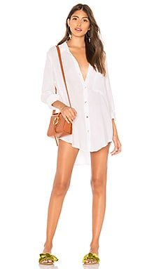 Milos Shirt Dress Acacia Swimwear $132