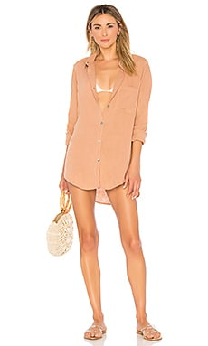 Milos Shirt Dress Acacia Swimwear $132 NEW ARRIVAL