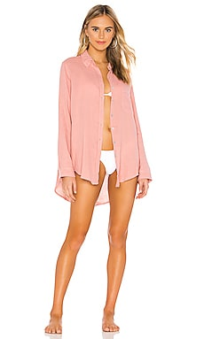 Milos Button Up Acacia Swimwear $132 NEW ARRIVAL