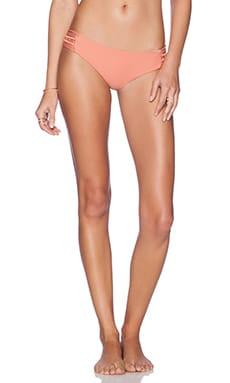 Acacia Swimwear Pikake Bikini Bottom in Papaya