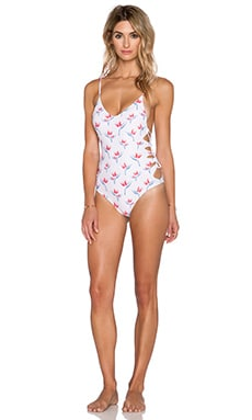 Acacia Swimwear Florence Swimsuit in Bird of Paradise