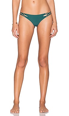 Acacia Swimwear Kekaha Bikini Bottom in Seaweed