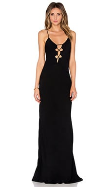 Brawa Maxi Dress in Storm