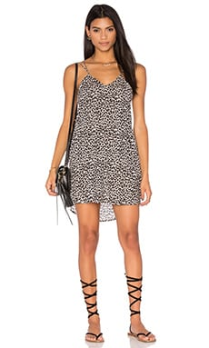 Kama'aina Dress in Snow Leopard