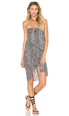 Acacia Swimwear Kuau Pareo in Snow Leopard
