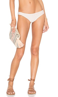 Acacia Swimwear Mesh Ho'okipa Bikini Bottom in Foam