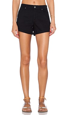 a.c.e La Jolla Booty Short in Black