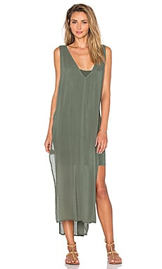 YFB CLOTHING Zaria Dress in Balsam