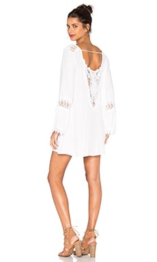 YFB CLOTHING Gambier Dress in White