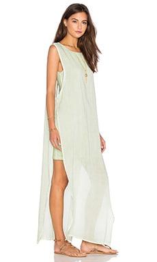 YFB CLOTHING Nile Maxi Dress in Green Tea
