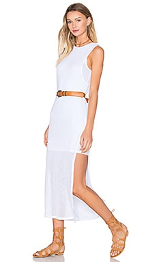 Nile Maxi Dress in White
