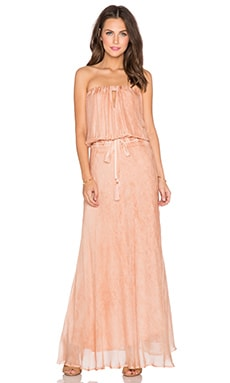YFB CLOTHING Hester Maxi Dress in Pink Sand