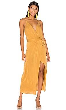 Bessie Dress in Mustard