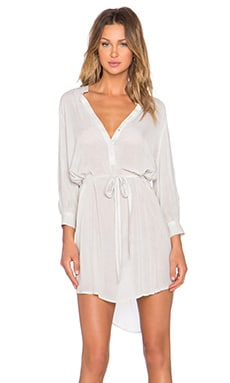 YFB CLOTHING Brent Tunic Dress in Oyster