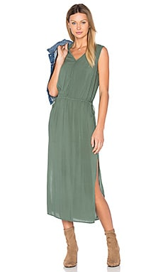 Goa Dress in Olive Green