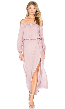 Canyon Dress in Dusted Peony
