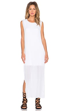 YFB CLOTHING Nile Maxi Dress in True White