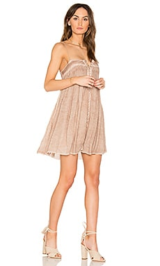 Bevy Dress in Ginger Oil Wash