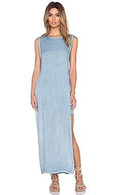 YFB CLOTHING Nile Maxi Dress in Blue
