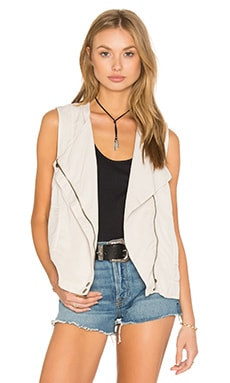 YFB CLOTHING Baxter Vest in Dove