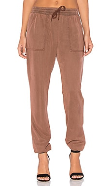 YFB CLOTHING Orchid Pant in Cherry Wood