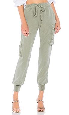 Купить Брюки jupiter - YFB CLOTHING зеленого цвета