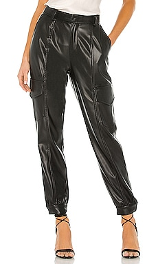 PANTALON EN CUIR PRISCILLA YFB CLOTHING $90