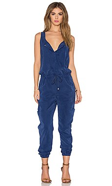YFB CLOTHING Wasson Jumpsuit in Blueberry