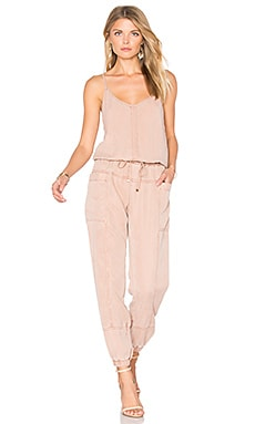 Iver Jumpsuit in Sand Rose