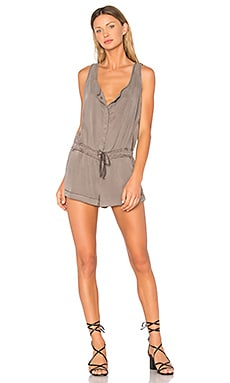 Cliff Romper in Cocoa