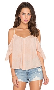 YFB CLOTHING Pearlie Top in Pink Sand