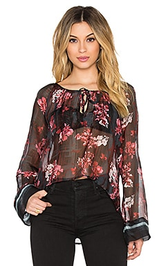 YFB CLOTHING Tora Blouse in Shiraz