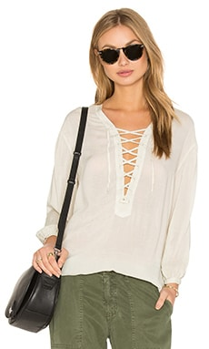 YFB CLOTHING Blossom Top en Dove