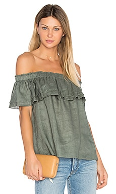 Birdy Top in Olive Green