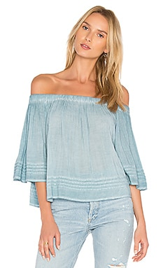 Perris Top in Powder Blue